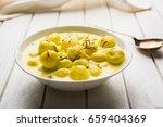 angoori rasmalai is an indian... | Shutterstock . vector #659404369