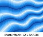 design template with blue curve ...   Shutterstock .eps vector #659420038