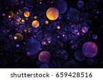 abstract orange and blue... | Shutterstock . vector #659428516