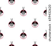 black friday sale tag pattern... | Shutterstock .eps vector #659432620
