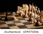 international day of chess ... | Shutterstock . vector #659470306