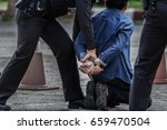 police steel handcuffs police...