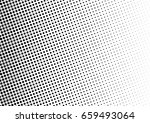 abstract halftone dotted... | Shutterstock .eps vector #659493064