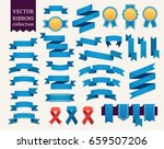 vector collection of decorative ... | Shutterstock .eps vector #659507206