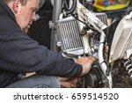 fim european motocross... | Shutterstock . vector #659514520