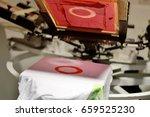 screen printing  | Shutterstock . vector #659525230