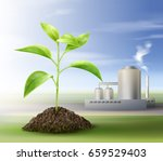 vector concept of processing... | Shutterstock .eps vector #659529403
