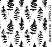 vector seamless pattern with... | Shutterstock .eps vector #659556028