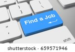find a job | Shutterstock . vector #659571946