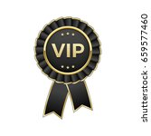 "black and gold ""vip"" award... 