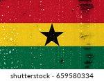 flag of ghana | Shutterstock . vector #659580334