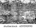 concrete wall background | Shutterstock . vector #659590990