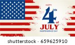 happy 4th of july  ... | Shutterstock .eps vector #659625910
