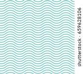 blue wavy pattern   Shutterstock .eps vector #659628106