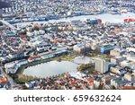 bergen norway | Shutterstock . vector #659632624