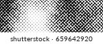 abstract halftone pattern... | Shutterstock .eps vector #659642920