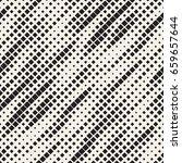modern stylish halftone texture.... | Shutterstock .eps vector #659657644