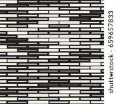 vector seamless black and white ...   Shutterstock .eps vector #659657833