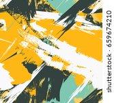 grunge seamless texture pattern ... | Shutterstock .eps vector #659674210