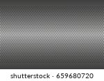 perforated metal texture ... | Shutterstock .eps vector #659680720