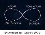 infinite loop from effort to... | Shutterstock . vector #659691979