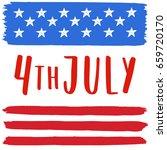 4th of july illustration....   Shutterstock .eps vector #659720170