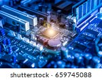 the abstract image of the...   Shutterstock . vector #659745088