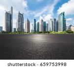 shanghai lujiazui and urban... | Shutterstock . vector #659753998