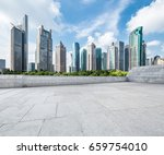 shanghai lujiazui and urban... | Shutterstock . vector #659754010