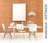 3d illustration  modern... | Shutterstock . vector #659756320