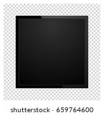 modern square tv screen  led... | Shutterstock .eps vector #659764600
