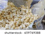 Homemade Popcorn In A Bag