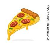 vector illustration in cartoon... | Shutterstock .eps vector #659787238