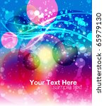 abstract background for text | Shutterstock .eps vector #65979130