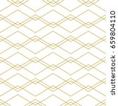 seamless geometric vector...   Shutterstock .eps vector #659804110