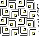 seamless geometric pattern with ... | Shutterstock .eps vector #659804728