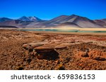 atacama desert  chile   Shutterstock . vector #659836153