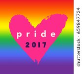 pride 2017 inspirational gay... | Shutterstock .eps vector #659847724