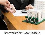 mortgage condo concept | Shutterstock . vector #659858536