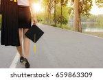 The Graduating Girl Is Walking...