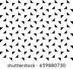 simple seamless triangle...   Shutterstock .eps vector #659880730