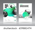 magazine cover layout design... | Shutterstock .eps vector #659881474