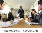 african american businessman... | Shutterstock . vector #659901928