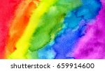 abstract painting background.... | Shutterstock .eps vector #659914600