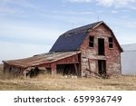 Old Red Barn. Abandoned Early...