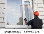 construction worker sets...