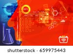 research method abstract  ... | Shutterstock .eps vector #659975443