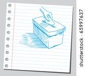 sketch style vector...   Shutterstock .eps vector #65997637