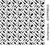 cutlery seamless vector pattern.... | Shutterstock .eps vector #659998810