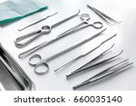 medical instruments for... | Shutterstock . vector #660035140